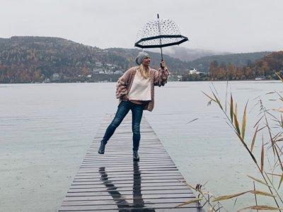 """Mamakolumne: Positives Denken auch bei """"Regen"""" und was mir hilft!"""