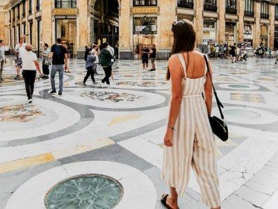 Mama allein unterwegs in Neapel