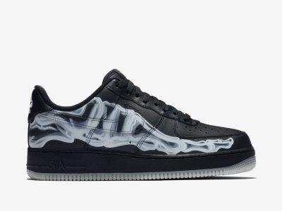 Nike Air Force 1 QS Skeleton Black