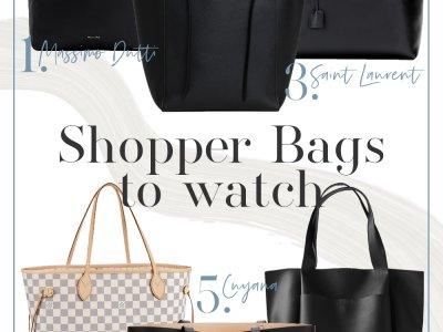 Wishlist: Shopper Bags to watch