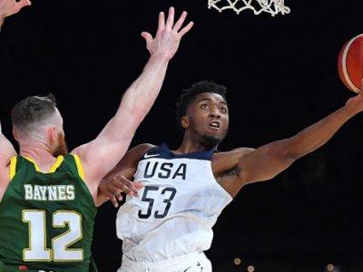Basketball: Team USA schlägt Aussies vor Mega-Kulisse