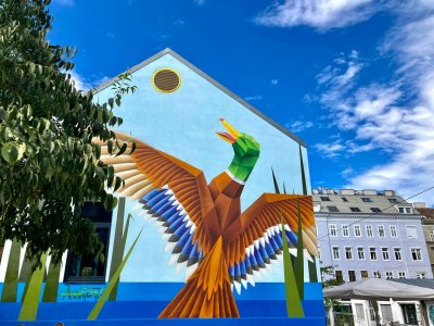 Wo ihr in Wiens Straßen zeitgenössische Kunst entdecken könnt