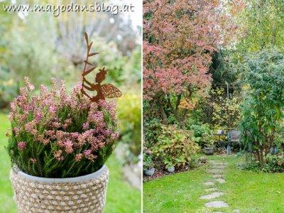 Garten und Terrasse im Spätherbst - Das Ende der Gartensaison