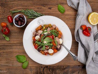 Italienischer Reissalat mit Thunfisch