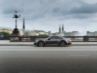 Tageweise Porsche fahren in Hamburg