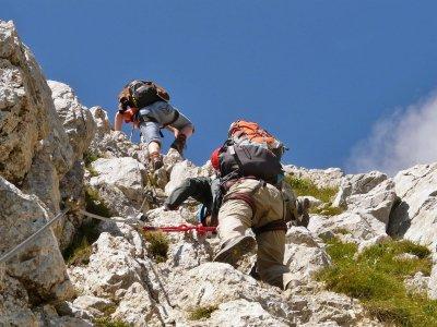 Klettersteige für den Einstieg