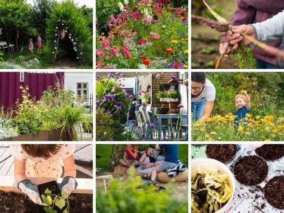 Familiengarten Sehnsucht: Gemüse, Blumen, DIYs, Gestaltung & Bücher-Tipps – Inspiration für dein Grün