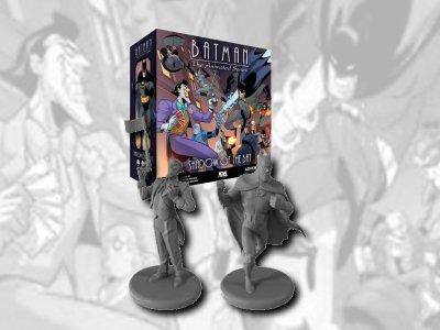 Batman: The Animated Series Adventures – Shadow of the Bat: Kickstarter-Kampagne zum Brettspiel startet bald