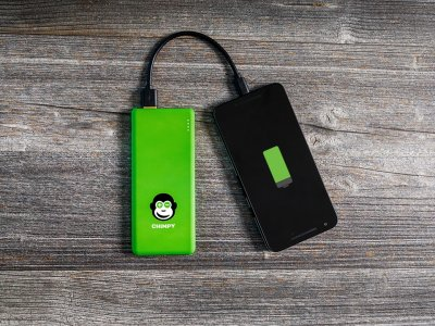 Gewinne 10 mal vollen Akku für dein Smartphone von Chimpy