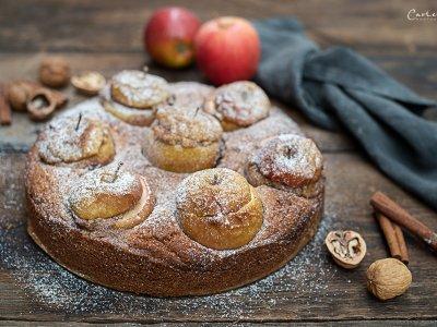 Bratapfelkuchen Zuckerfrei