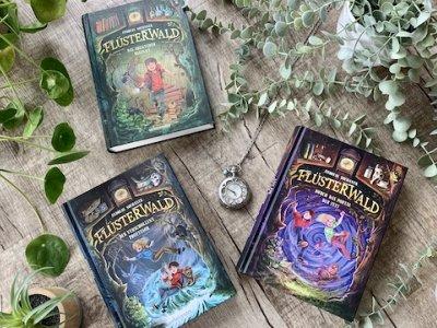 Buchvorstellung der fantastischen Abenteuerreihe Flüsterwald inkl. Gewinnspiel