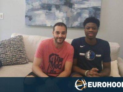 Kostas Antetokounmpo spricht über den Traum mit seinen Brüdern für Griechenland zu spielen