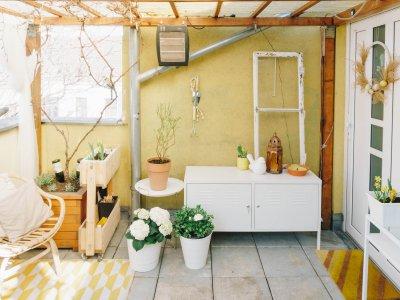 DIY Boho-Terrasse: mein Update mit der #rayherchallenge*