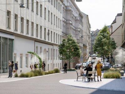 Wiens coole Straßen: Abkühlung in der Stadt