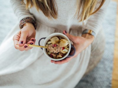Bananen-Kakao-Porridge  Kopieren