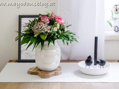 Wochenende Blumenstrauß und Eindrücke aus dem Frühsommergarten