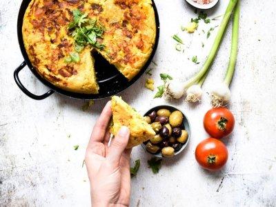 {FOOD} Tortilla Española vegan und glutenfrei