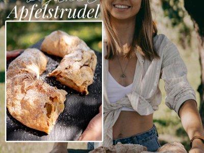 Veganer Apfelstrudel Oma's Lieblingsrezept