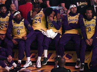 """NBA: Lakers feiern emotionale Zeremonie für Kobe: """"Eine sehr harte Nacht"""""""
