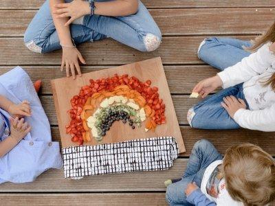 Das Regenbogen-Obst: Stressbefreit und köstlich