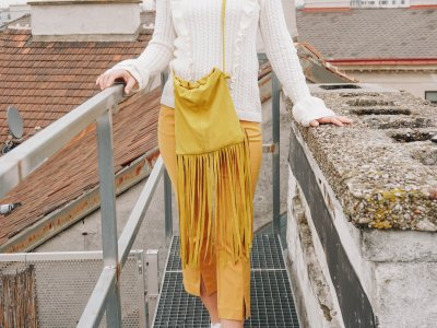 DIY Handtasche: look a like The Fringe Pouch