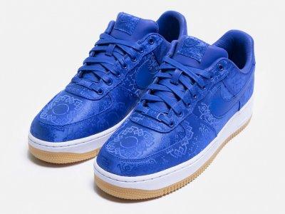 CLOT x Nike Air Force 1 Blue Silk |Store and Raffle List
