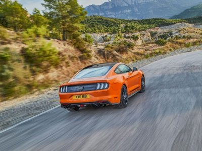 Ford bringt Editionsmodell Mustang55 auf europäischen  Markt