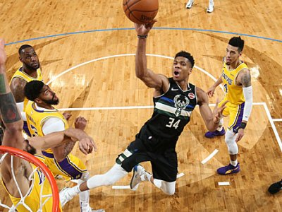 NBA: Bucks stürzen LeBron und die Lakers