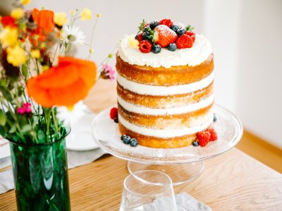 HOLUNDERBLÜTEN NAKED CAKE