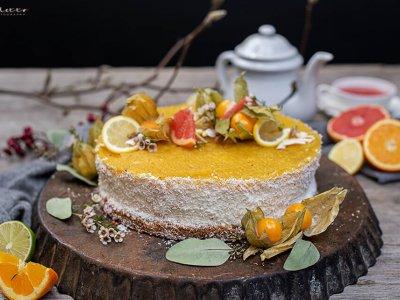 Mango Kokos Torte *glutenfrei