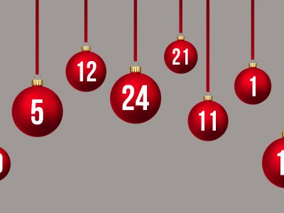 Adventskalender, mal anders: alternative Ideen für den Advent. Kalender für Paare gewinnen!