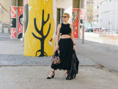 Cutout Outfit: trotzdem angezogen aussehen