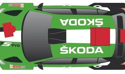 Fan macht den Škoda Fabia R5 evo von Fabian Kreim schön
