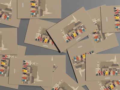 """Wien hält zusammen: Hier findet ihr unsere """"Wir alle sind Wien!""""-Postkarten"""