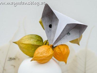 """DIY Einfache Origami Füchse als bezaubernde Herbstdeko und Buchvorstellung """"My scandinavian Home"""""""